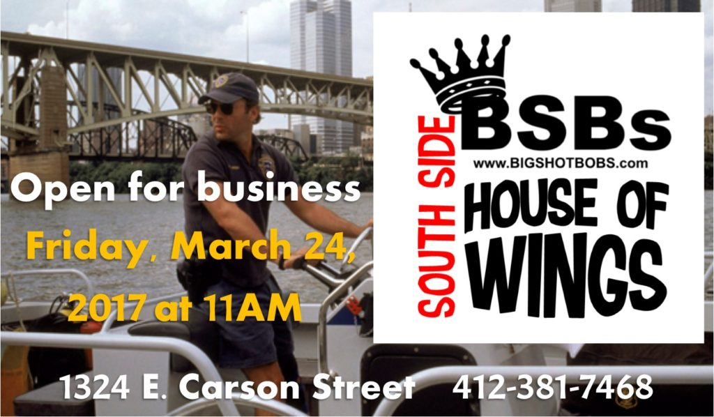 big shot bob's house of wings south side opening march 24, 2017
